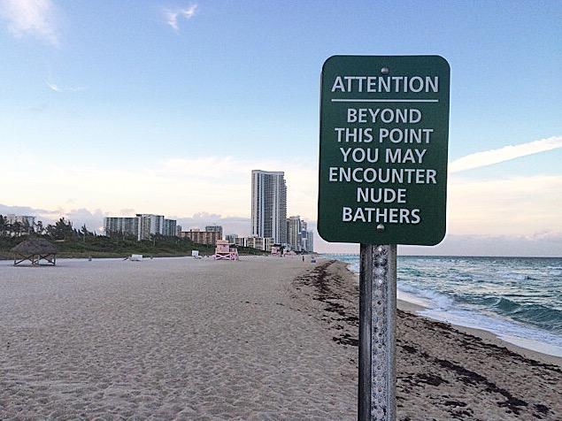 nude beach, haulover beach, florida beach, best nude beach